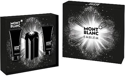 Montblanc Emblem - Duftset (Eau de Toilette/100ml + After Shave Balsam/100ml + Duschgel/100ml) — Bild N1