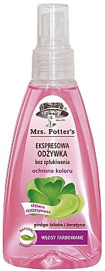 Haarspülung - Mrs. Potter's Colour Protection Express Conditioner Spray — Bild N1
