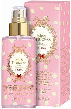 Pupa Miss Princess Body and Hair Scented Water Green Tea - Eau de Parfum — Bild N1