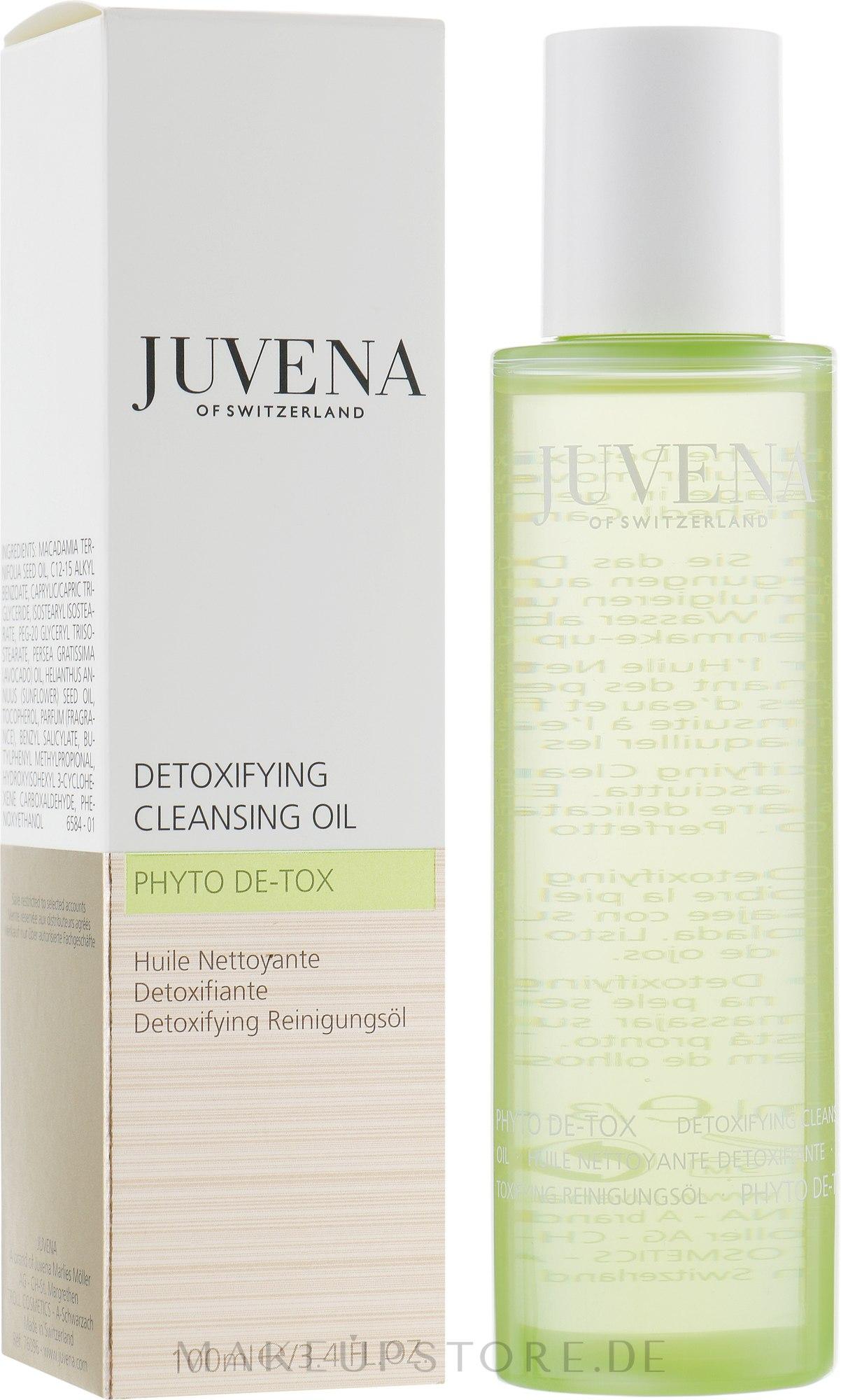 Gesichtsreinigungsöl - Juvena Phyto De-Tox Cleansing Oil — Bild 100 ml