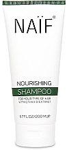 Düfte, Parfümerie und Kosmetik Pflegendes Shampoo mit Leinsamenextrakt - Naif Nourishing Shampoo