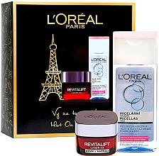 Düfte, Parfümerie und Kosmetik Gesichtspflegeset - L'Oreal Paris Revitalift Kit (Gesichtscreme 50ml + Mizellenwasser 200ml)