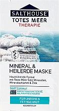 Düfte, Parfümerie und Kosmetik Gesichtsmaske mit Mineralien aus dem Toten Meer, Mineralschalmm und Zink für unreine und fettige Haut - Salthouse Dead Sea Face Mask