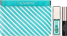 Düfte, Parfümerie und Kosmetik Make-up Set (Lippenöl Minze 7ml + Mascara 3,5ml + Kosmetiktasche) - Clarins Candy Box Mint