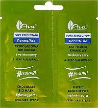 Düfte, Parfümerie und Kosmetik Bio Gesichtsmaske und Gesichtspeeling Set - Ava Laboratorium Pore Revolution Peel