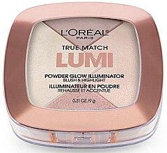 Düfte, Parfümerie und Kosmetik Gesichtspuder - L'Oreal Paris True Match Lumi Powder Glow Illuminator