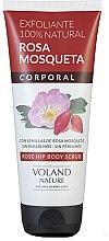 Düfte, Parfümerie und Kosmetik Körperpeeling mit Hagebutte - Voland Nature Rose Hip Body Scrub