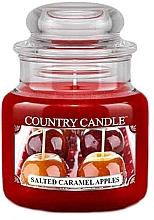 Düfte, Parfümerie und Kosmetik Duftkerze im Glas Salted Caramel Apples - Country Candle Salted Caramel Apples