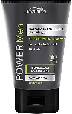 After Shave Balsam mit Panthenol und Hydromanil - Joanna Power Men After Shave Balm — Bild N1