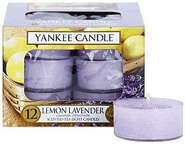 "Düfte, Parfümerie und Kosmetik Teelichte ""Lemon Lavender""-12 St. - Yankee Candle Scented Tea Light Candles Lemon Lavender"