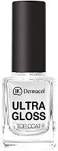 Düfte, Parfümerie und Kosmetik Nagelüberlack - Dermacol Ultra Gloss Top Coat