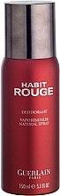 Düfte, Parfümerie und Kosmetik Guerlain Habit Rouge - Deospray