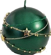 Düfte, Parfümerie und Kosmetik Dekorative Kerze in Kugelform grün 8 cm - Artman Christmas Garland