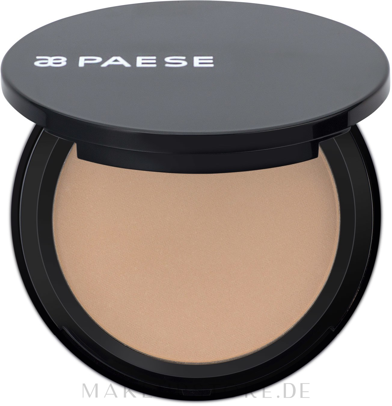 Kompaktpuder - Paese Matter Powder Semitransparent (1A-Warmes Beige) — Bild 1A - Ciep³y be¿