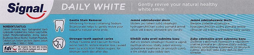 Aufhellende Zahnpasta Family Daily White - Signal Family Daily White Toothpaste — Bild N5