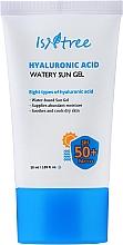 Düfte, Parfümerie und Kosmetik Sonnenschutzgel für das Gesicht mit Hyaluronsäure SPF 50+ - Isntree Hyaluronic Acid Watery Sun Gel SPF 50+ PA++++
