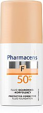 Düfte, Parfümerie und Kosmetik Schützende Foundation - Pharmaceris F Protective-Corrective Fluid Foundation SPF 50+