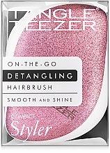 Kompakte Haarbürste - Tangle Teezer Compact Styler Glitter Rose — Bild N5