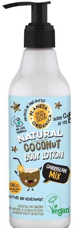 Feuchtigkeitsspendende und nährende Körperlotion mit Kokosnuss - Planeta Organica Natural Coconut Body Caribian Mix — Bild N1