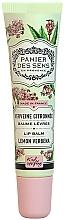 Düfte, Parfümerie und Kosmetik Lippenbalsam mit Sheabutter - Panier Des Sens Lip Balm Shea Butter Lemon Verbena