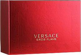 Düfte, Parfümerie und Kosmetik Versace Eros Flame - Duftset (Eau de Parfum/100ml + Eau de Parfum/10ml + Kosmetiktasche)