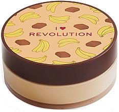 Düfte, Parfümerie und Kosmetik Loser Gesichtspuder Schockolade und Banane - I Heart Revolution Loose Baking Powder Chocolate Banana