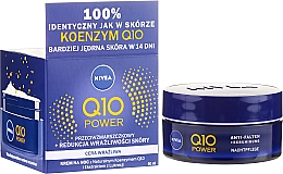 Düfte, Parfümerie und Kosmetik Nachtcreme mit Coenzym Q10 für empfindliche Haut - Nivea Q10 Power Cream