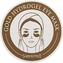 Düfte, Parfümerie und Kosmetik Hydrogelmaske für die Augenkontur - Shangpree Gold Hydrogel Eye Mask