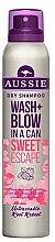 Düfte, Parfümerie und Kosmetik Trockenshampoo für alle Haartypen - Aussie Dry Shampoo Wash Blow Sweet Escape