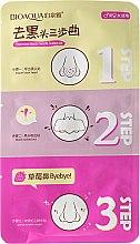 Düfte, Parfümerie und Kosmetik 3-Schritt-Nasenstrips gegen Mitesser - Bioaqua