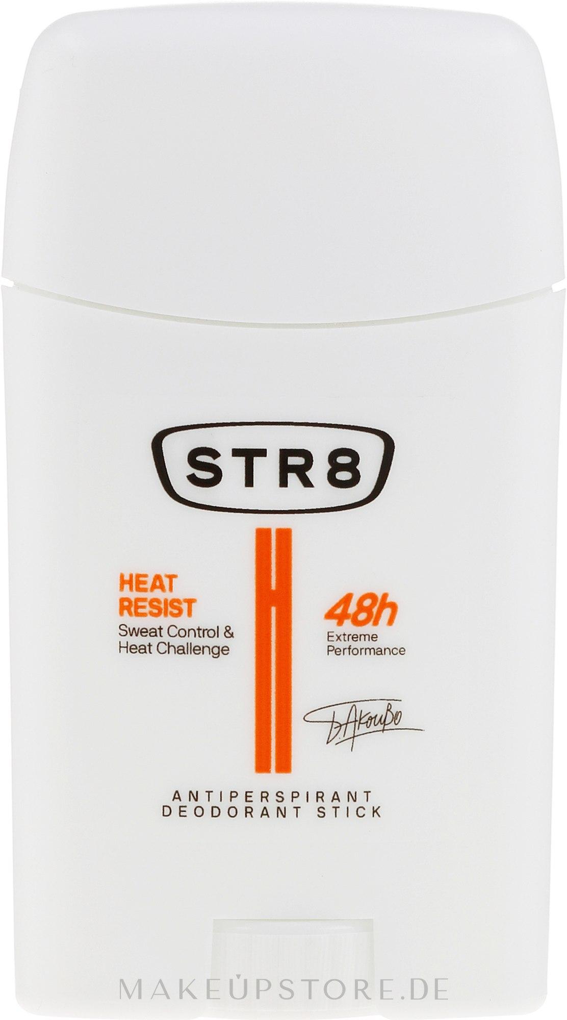 Deostick Antitranspirant - STR8 Heat Resist Antiperspirant Deo-Stick — Bild 50 ml