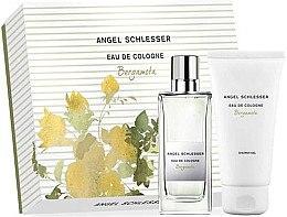 Düfte, Parfümerie und Kosmetik Angel Schlesser Eau De Cologne Bergamota - Kosmetikset (Eau de Cologne/100ml+Duschgel/150)