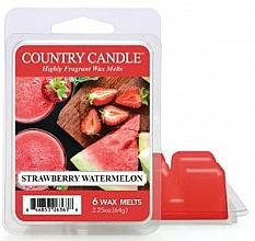 Düfte, Parfümerie und Kosmetik Duftwachs Strawberry Watermelon - Country Candle Wax Melt Strawberry Watermelon