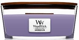 Düfte, Parfümerie und Kosmetik Duftkerze im Glas Lavender Spa - Woodwick Hourglass Candle Lavender Spa
