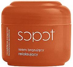 Düfte, Parfümerie und Kosmetik Beruhigende bronzierende Gesichtscreme - Ziaja Bronzing Lotion