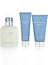 Dolce & Gabbana Light Blue Pour Homme - Duftset (Eau de Toilette 125ml + Duschgel 50ml +After Shave Balsam 75ml) — Bild N5