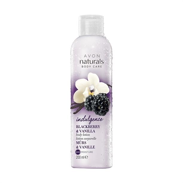Körperlotion - Avon Naturals Flirty Blackberry Vanilla Body Lotion — Bild N1