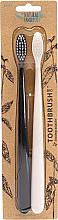 Düfte, Parfümerie und Kosmetik Zahnbürste mit biologisch abbaubarem Griff 2 St. - The Natural Family Co Bio Brush Pirate Black & Ivory Desert
