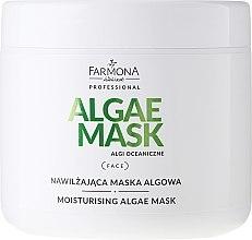 Feuchtigkeitsspendende Gesichtsmaske mit Kollagen und Algen - Farmona Nasykone Pragnienie — Bild N1