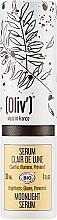 Düfte, Parfümerie und Kosmetik Aufhellendes Gesichtsserum mit Olivenblattextrakt - Oliv Moonlight Serum