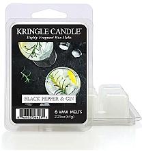 Düfte, Parfümerie und Kosmetik Duftwachs Black Pepper & Gin - Kringle Candle Wax Melt Black Pepper Gin