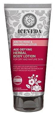 Körperlotion - Natura Siberica Iceveda Arctic Rose&Maharaja Lotus Age-Defying Herbal Body Lotion — Bild N1