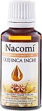 Inka-Erdnussöl für Gesicht und Körper - Nacomi Olej Inca Inchi Odbudowa Kolagenu Skóry — Bild N1