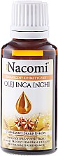 Düfte, Parfümerie und Kosmetik Inka-Erdnussöl für Gesicht und Körper - Nacomi Olej Inca Inchi Odbudowa Kolagenu Skóry