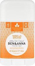 Düfte, Parfümerie und Kosmetik Natürlicher Soda Deostick Vanilla Orchid - Ben & Anna Natural Soda Deodorant Vanilla Orchid