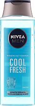 Vitalisierendes und erfrischendes Shampoo - Nivea For Men Cool Fresh Mentol Shampoo — Bild N1