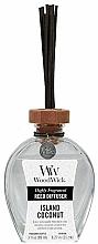 Düfte, Parfümerie und Kosmetik Lufterfrischer Island Coconut - WoodWick Reed Diffuser Island Coconut