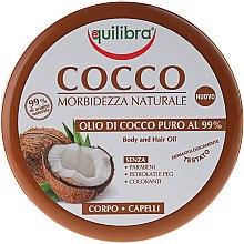 Düfte, Parfümerie und Kosmetik Kokosöl für Körper und Haar - Equilibra Body&Hair Oil