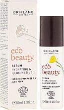Düfte, Parfümerie und Kosmetik Feuchtigkeitsserum für strahlende Gesichtshaut mit Nachtkerzenöl und Aloe Vera - Oriflame Ecobeauty Serum