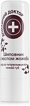 Düfte, Parfümerie und Kosmetik Antiseptischer Lippenbalsam mit Hagebutte und Jojobaöl - Hausarzt